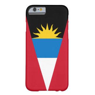 アンチグアバーブーダの旗の電話箱 BARELY THERE iPhone 6 ケース