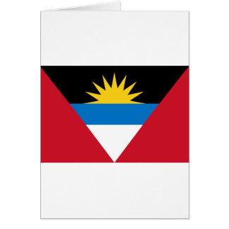 アンチグアバーブーダの旗 カード
