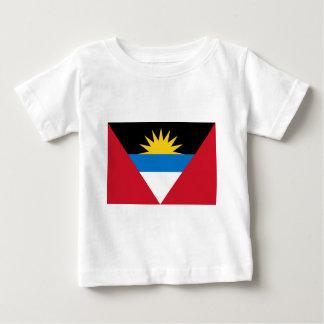 アンチグアバーブーダの旗 ベビーTシャツ