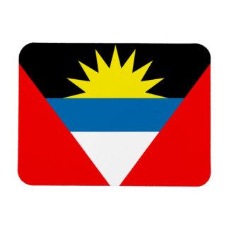 アンチグアバーブーダの旗 マグネット