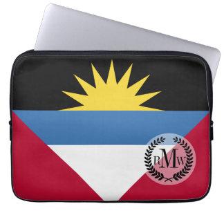 アンチグアバーブーダの旗 ラップトップスリーブ