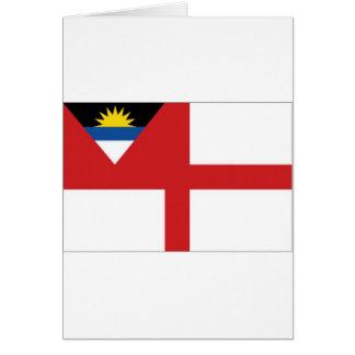 アンチグアバーブーダの沿岸警備隊の旗 カード