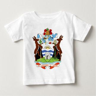 アンチグアバーブーダの紋章付き外衣 ベビーTシャツ