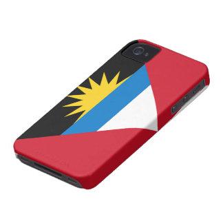 アンチグアバーブーダのiPhone 4/4Sのの旗穹窖 Case-Mate iPhone 4 ケース