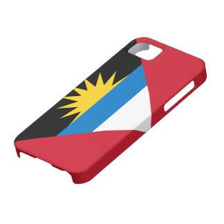 アンチグアバーブーダのiPhone 5のの旗場合 iPhone SE/5/5s ケース
