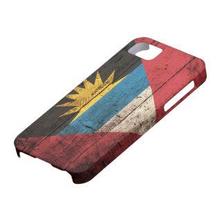 アンチグア及びバーブーダの古い木の旗 iPhone SE/5/5s ケース