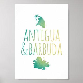 アンチグア及びバーブーダ ポスター