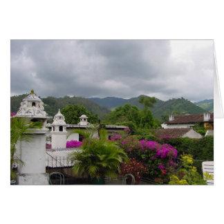 アンチグア、グアテマラ カード