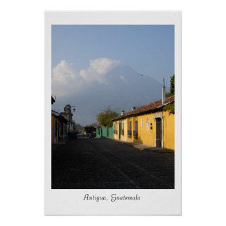 アンチグア、グアテマラ ポスター