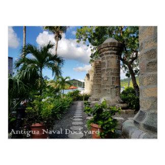 アンチグア-ネルソンの造船所 ポストカード