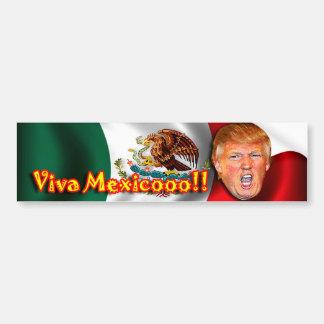 アンチドナルドの切札のVivaメキシコのバンパーステッカー バンパーステッカー