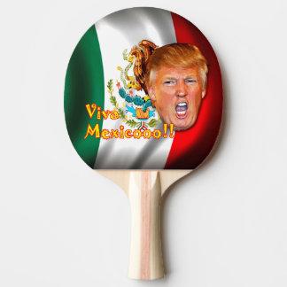 アンチドナルドの切札のVivaメキシコの卓球のかい ピンポンラケット