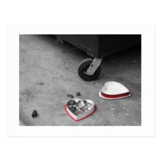 アンチバレンタインの郵便はがき ポストカード