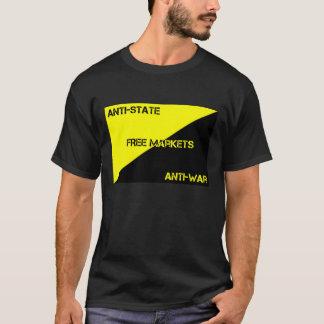 アンチ州、反戦、フリーマーケットのTシャツ Tシャツ