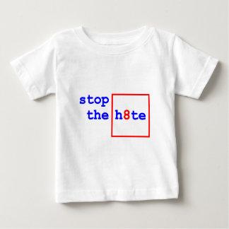 アンチ提案8: h8teをストップ ベビーTシャツ