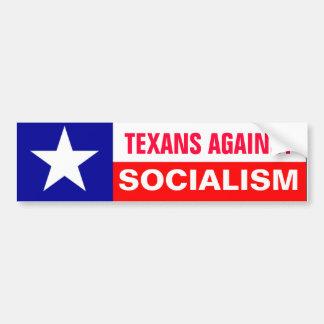 アンチ社会主義のテキサス人 バンパーステッカー