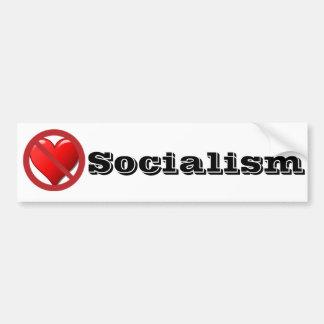 アンチ社会主義のバンパーステッカー バンパーステッカー