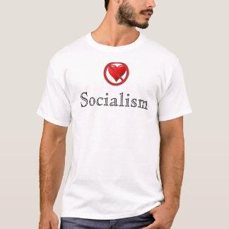 アンチ社会主義のワイシャツ(人) Tシャツ