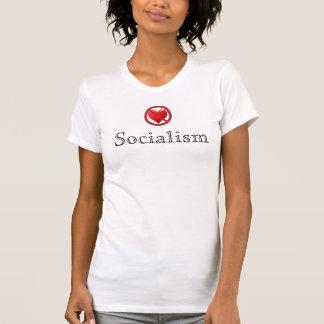 アンチ社会主義のワイシャツ(女性) Tシャツ