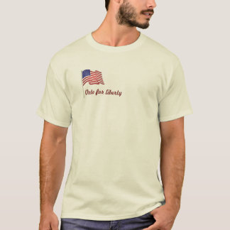 アンチ社会主義ベンフランクリン Tシャツ