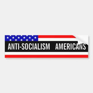 アンチ社会主義 バンパーステッカー