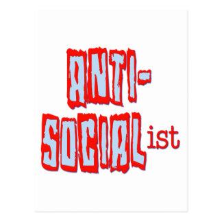 アンチ社会主義 ポストカード