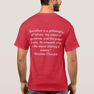 アンチ社会主義Tシャツ Tシャツ
