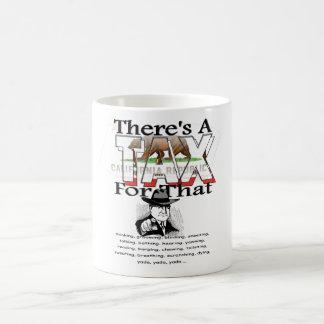 アンチ税(カリフォルニア) コーヒーマグカップ