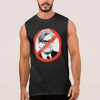 アンチBannon -反スティーブBannon 袖なしシャツ