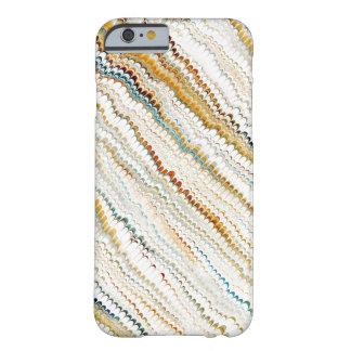 アンティークのマーブル紙--エレガントなヴィンテージのデザイン iPhone 6 ベアリーゼアケース