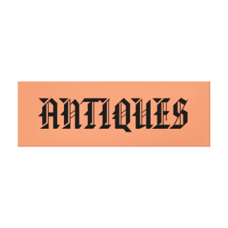 アンティークの印 キャンバスプリント
