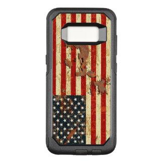 アンティークは米国旗米国錆つきました オッターボックスコミューターSamsung GALAXY S8 ケース