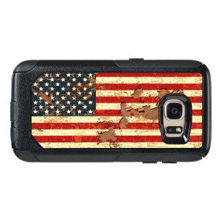 アンティークは米国旗米国錆つきました オッターボックスSamsung GALAXY S7ケース