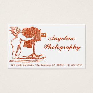 アンティーク一見のカメラマンの名刺 名刺