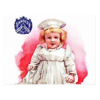 アンデスストーブのベビーのビクトリアンなヴィンテージ貿易カード芸術 ポストカード