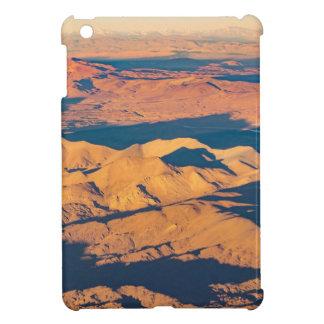 アンデス山の空気の景色場面 iPad MINIケース
