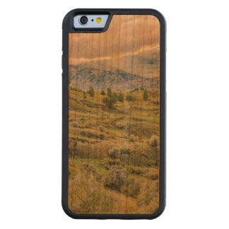 アンデス山脈の田園場面Quilotoa、エクアドル CarvedチェリーiPhone 6バンパーケース