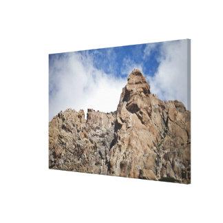 アンデス山脈山 キャンバスプリント