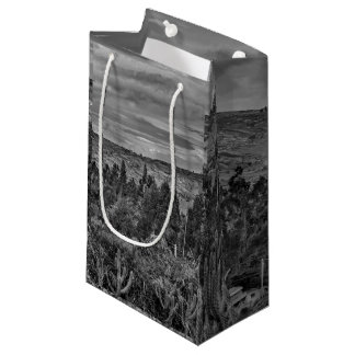 アンデス範囲のエクアドルの景色場面 スモールペーパーバッグ
