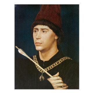 アントワーヌのRogier Weyden-のポートレート ポストカード