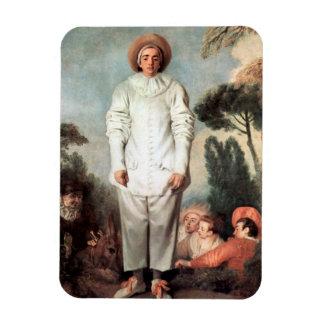 アントワーヌ・ヴァトー- Pierrot (ギレス) 1718年 マグネット