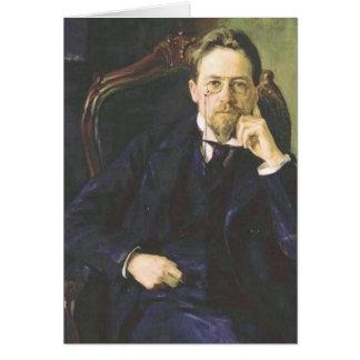 アントンチェコフ1898年 カード