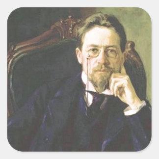 アントンチェコフ1898年 スクエアシール