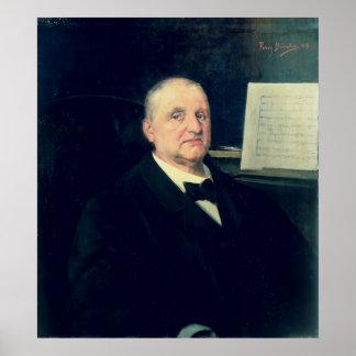 アントン・ブルックナー1889年 ポスター