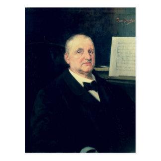 アントン・ブルックナー1889年 ポストカード