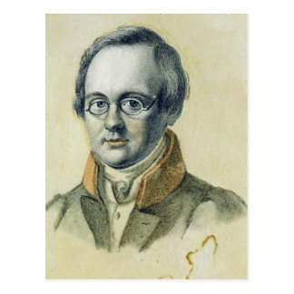 アントンA. Delvig 1830年のポートレート ポストカード
