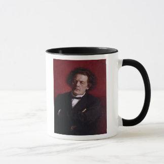 アントンGrigoryevich Rubinstein 1881年のポートレート マグカップ