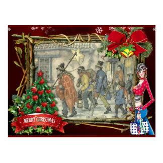 アントンPieckのクリスマスの挨拶 ポストカード