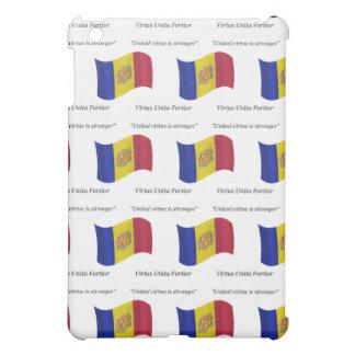 アンドラの旗およびモットー iPad MINI カバー
