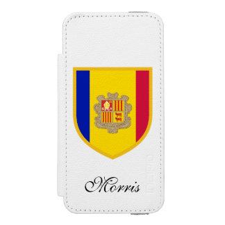 アンドラの旗 INCIPIO WATSON™ iPhone 5 財布 ケース